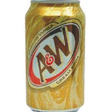 A&W Cream Soda 24/355mls