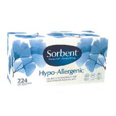 Sorbent Tissues 224pcs