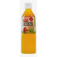 Aloe Vera Mango Flavor 500ML Geneva Brand 20 Bottles